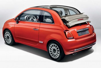 New Fiat 500 C Soft Top